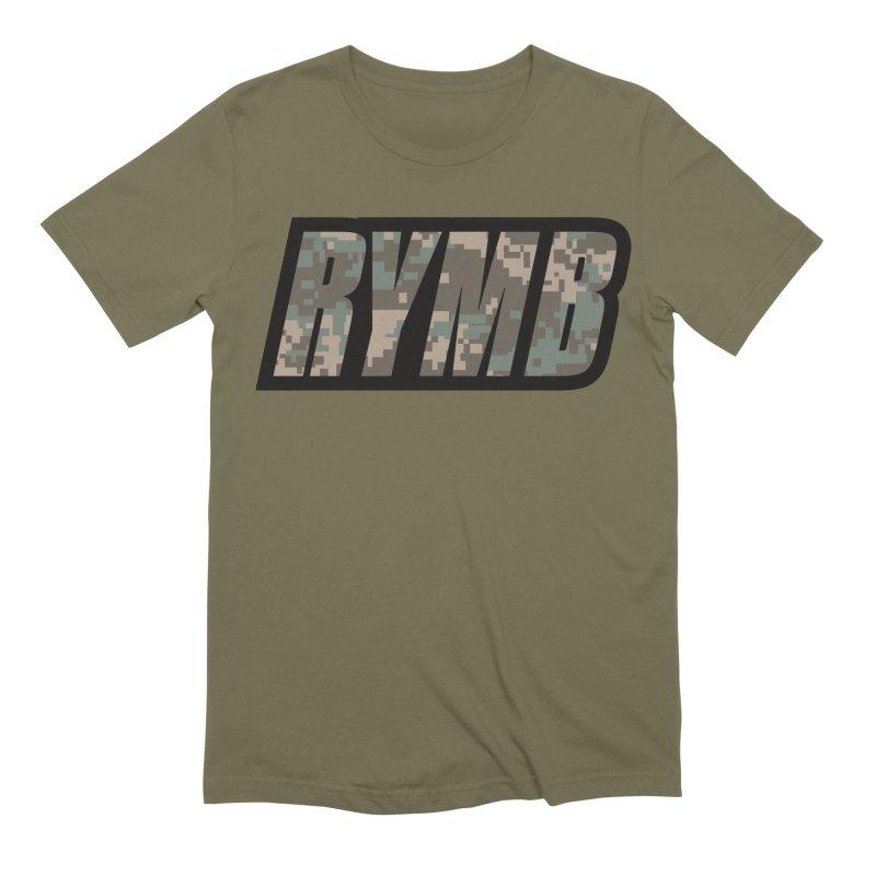 RYMB Camo Men's Extra Soft T-Shirt by RYMB Everyday