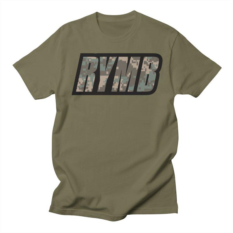 RYMB Camo Men's Regular T-Shirt by RYMB Everyday