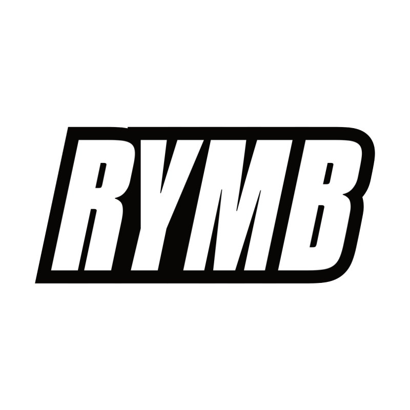 RYMB Logo Black and White by RYMB Everyday