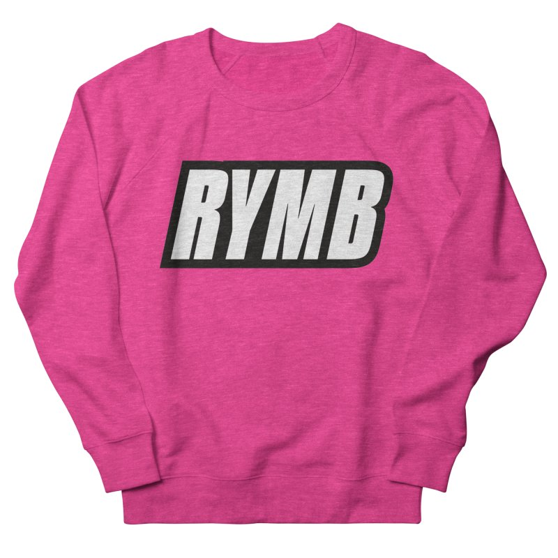 RYMB Logo Black and White Men's French Terry Sweatshirt by RYMB Everyday
