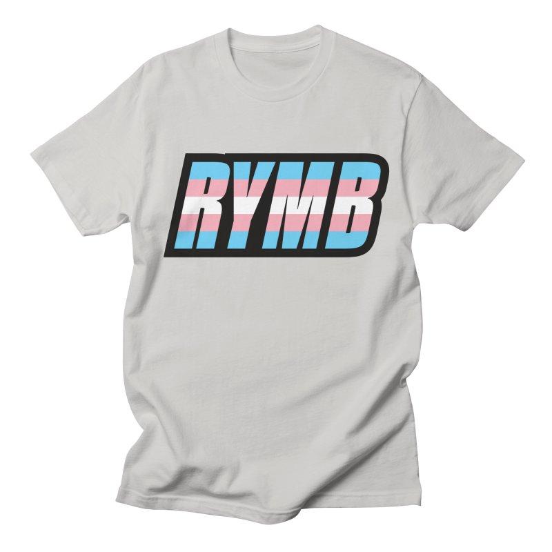 Transgender Flag RYMB Logo Women's Regular Unisex T-Shirt by RYMB Everyday