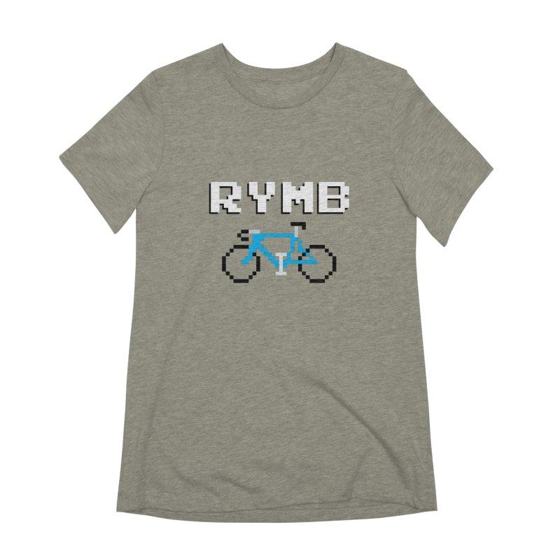 8-Bit RYMB Women's Extra Soft T-Shirt by RYMB Everyday
