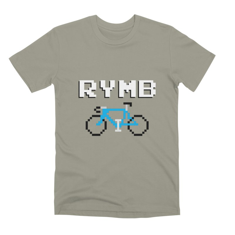 8-Bit RYMB Men's Premium T-Shirt by RYMB Everyday