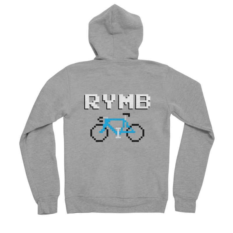 8-Bit RYMB Men's Sponge Fleece Zip-Up Hoody by RYMB Everyday