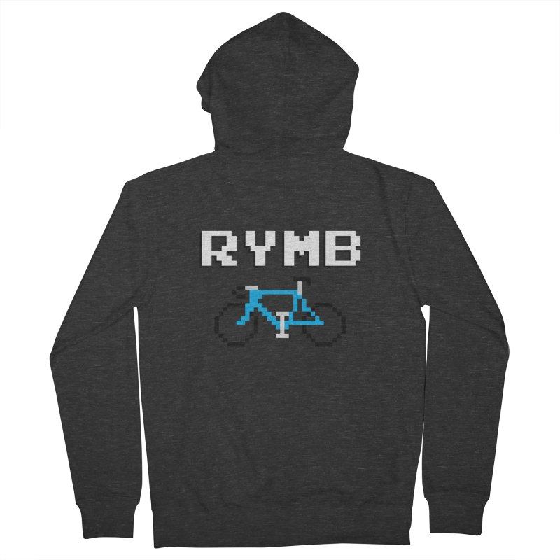 8-Bit RYMB Men's French Terry Zip-Up Hoody by RYMB Everyday