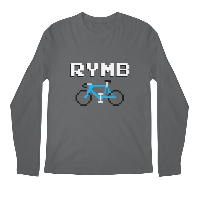 8-Bit RYMB Men's Regular Longsleeve T-Shirt by RYMB Everyday