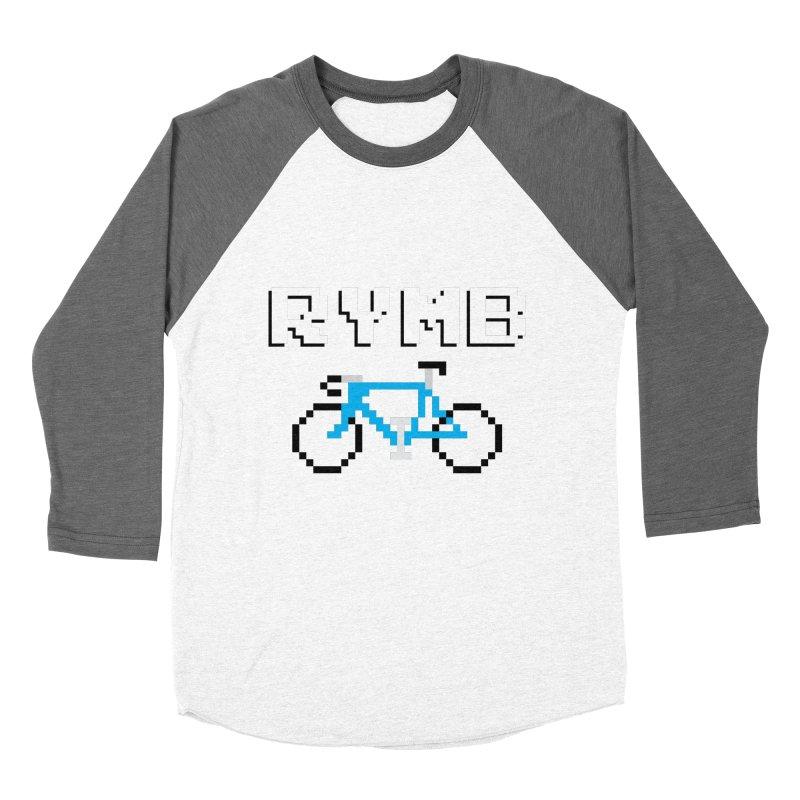 8-Bit RYMB Women's Baseball Triblend Longsleeve T-Shirt by RYMB Everyday