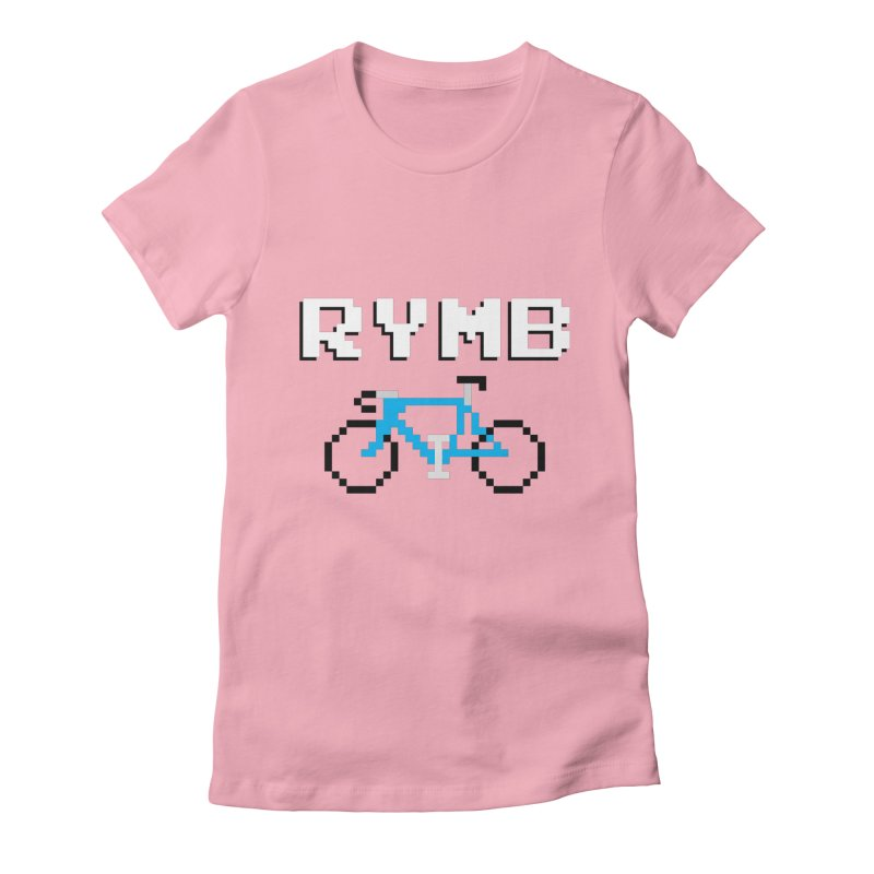 8-Bit RYMB Women's Fitted T-Shirt by RYMB Everyday