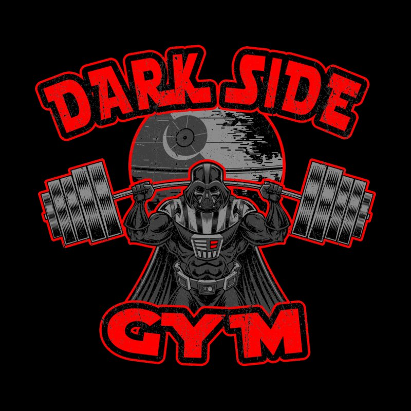 Dark Side Gym Home Fine Art Print by Rynoarts's Shop