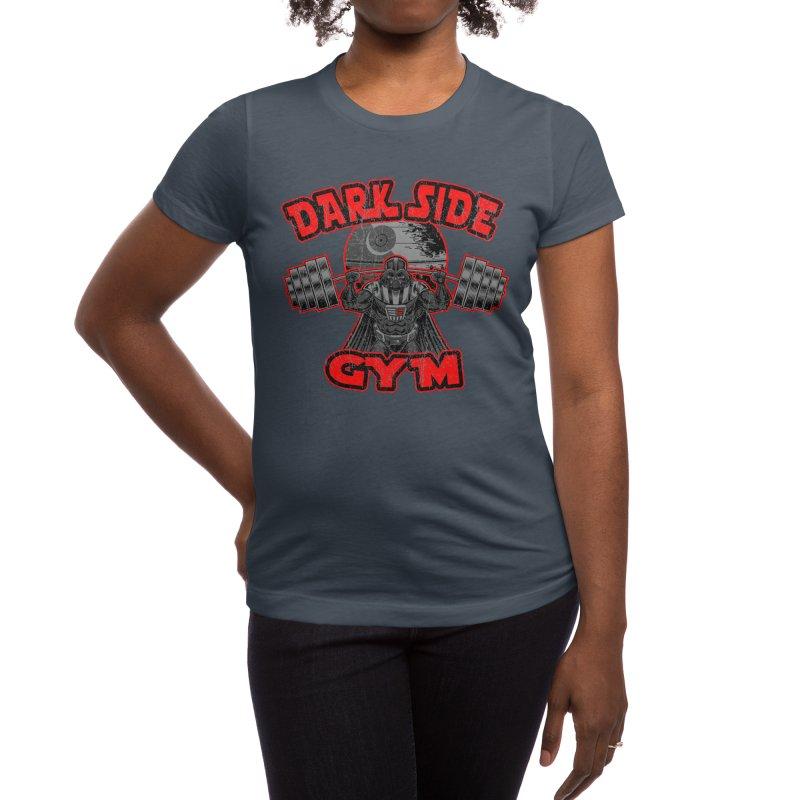 Dark Side Gym Women's T-Shirt by Rynoarts's Shop
