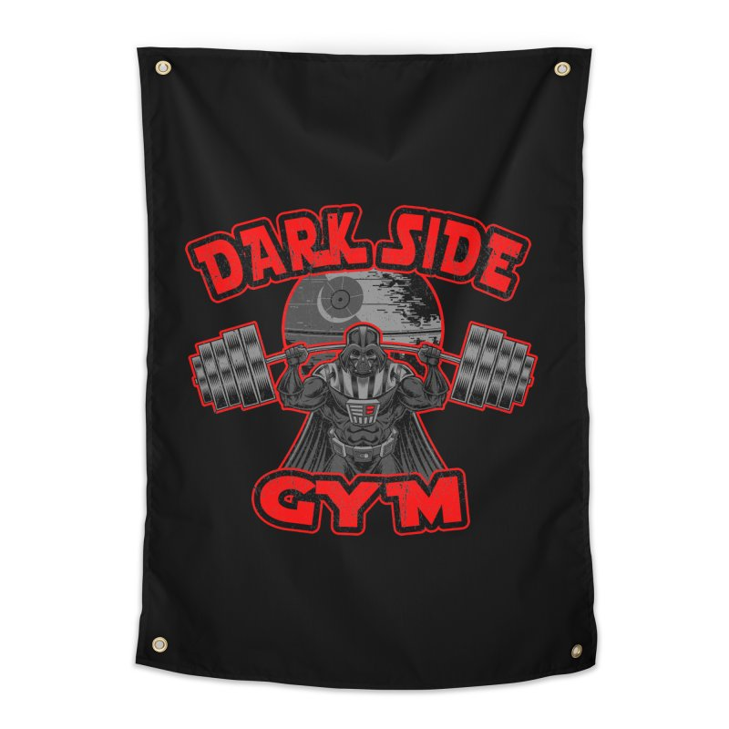 Dark Side Gym Home Tapestry by Rynoarts's Shop