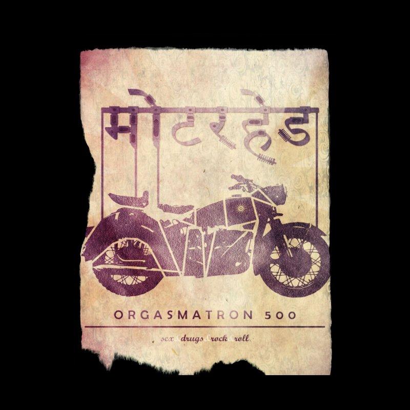 78e42e65 orgasmatron 500 retro poster / a tribute to Motorhead by The United Mental  States Of Saurabh
