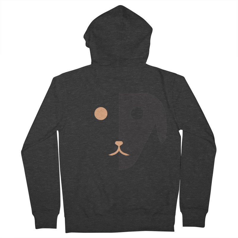 Saberdog Women's French Terry Zip-Up Hoody by saberdog's Artist Shop