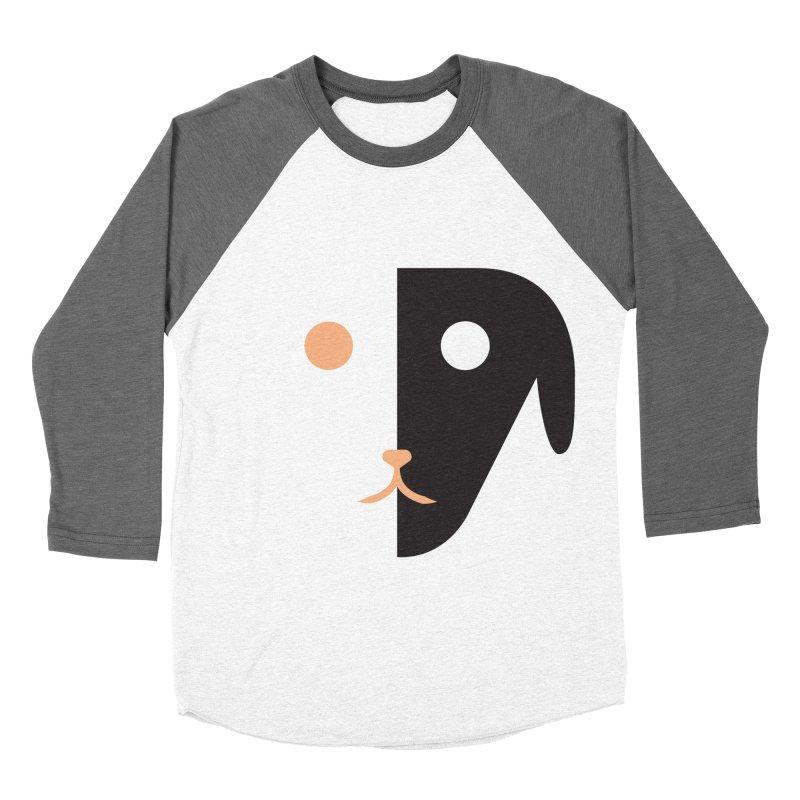 Saberdog Men's Baseball Triblend Longsleeve T-Shirt by saberdog's Artist Shop