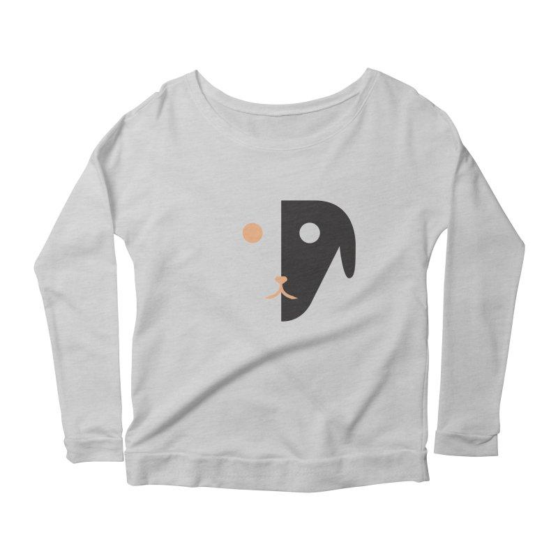 Saberdog Women's Scoop Neck Longsleeve T-Shirt by saberdog's Artist Shop