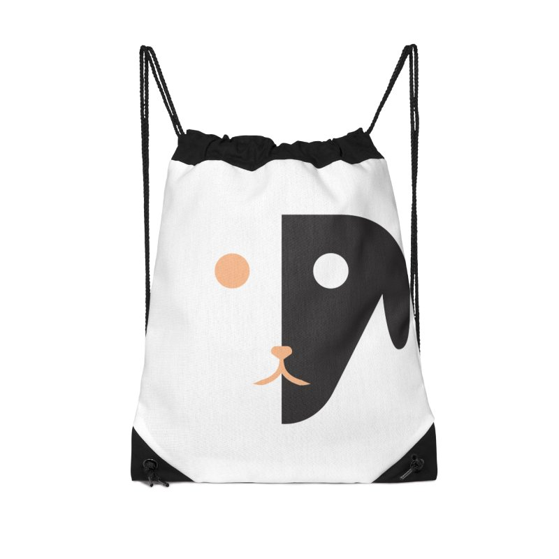 Saberdog Accessories Drawstring Bag Bag by saberdog's Artist Shop