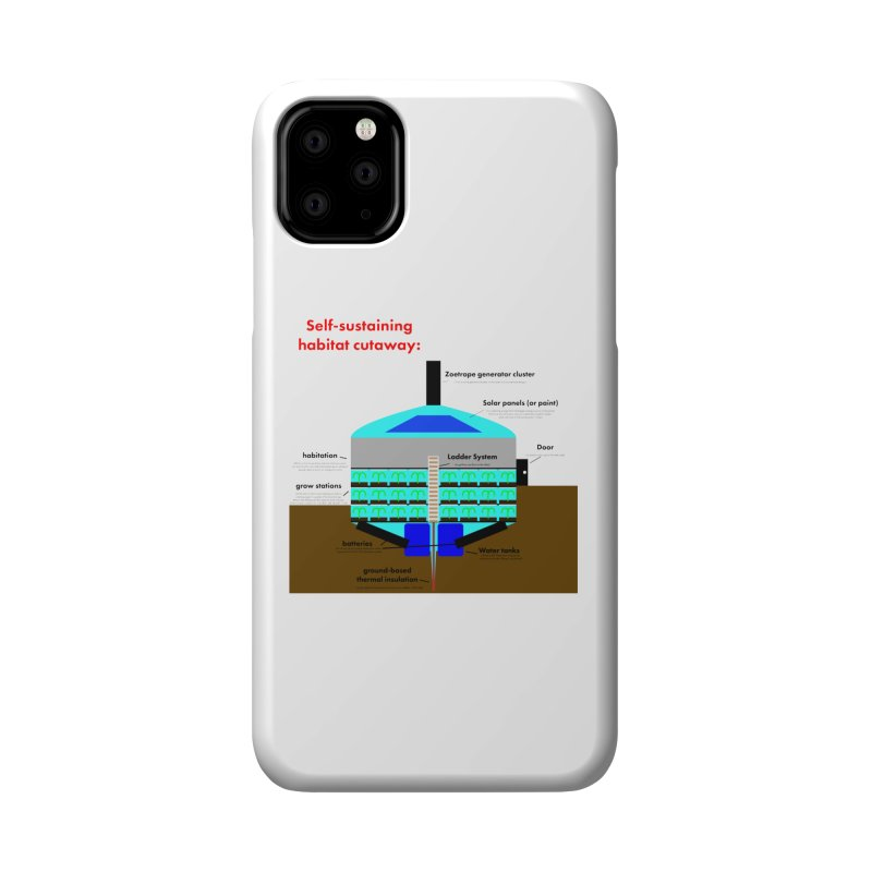 Self-Sustaining Habitat mk2 Accessories Phone Case by saberdog's Artist Shop