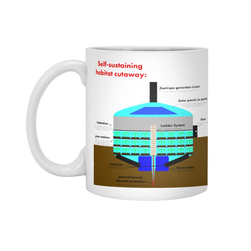 Self-Sustaining Habitat mk2 Accessories Standard Mug by saberdog's Artist Shop