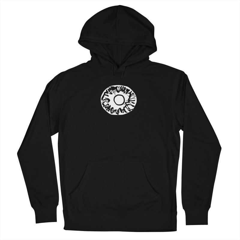 Eyez Whit Women's French Terry Pullover Hoody by saberdog's Artist Shop