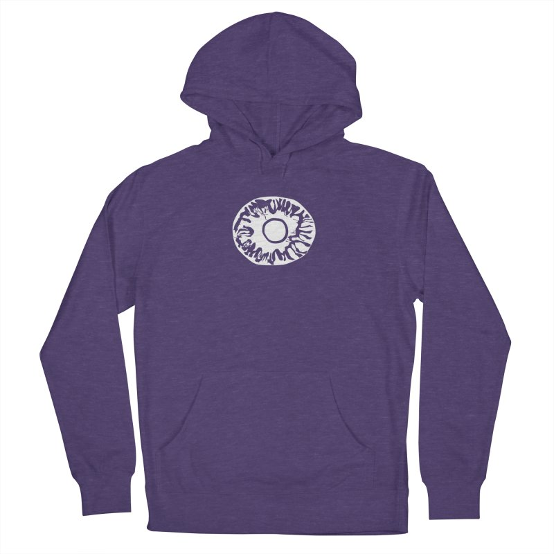 Eyez Whit Men's French Terry Pullover Hoody by saberdog's Artist Shop