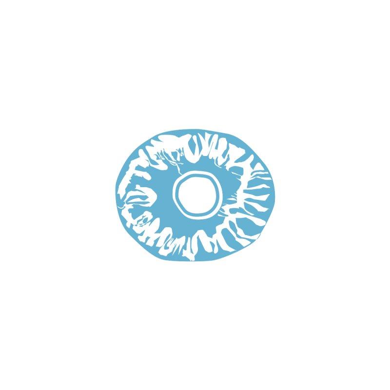 Eyez LitBlu Accessories Zip Pouch by saberdog's Artist Shop