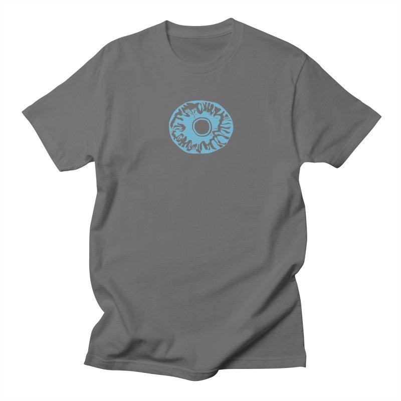 Eyez LitBlu Men's T-Shirt by saberdog's Artist Shop