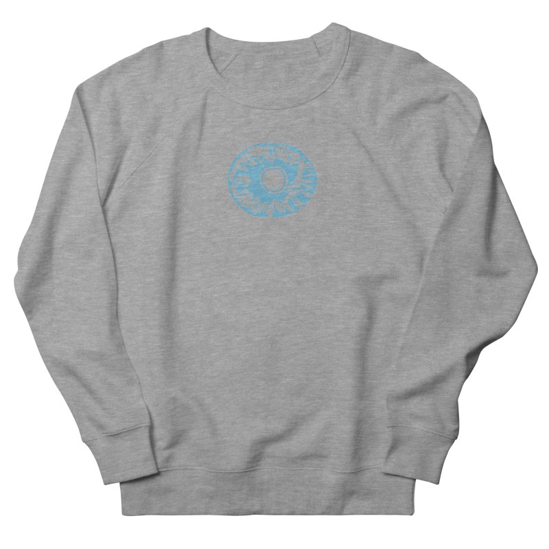 Eyez LitBlu Men's French Terry Sweatshirt by saberdog's Artist Shop