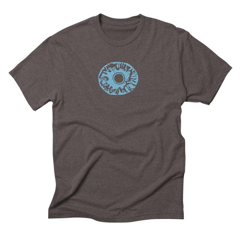 Eyez LitBlu Men's Triblend T-Shirt by saberdog's Artist Shop