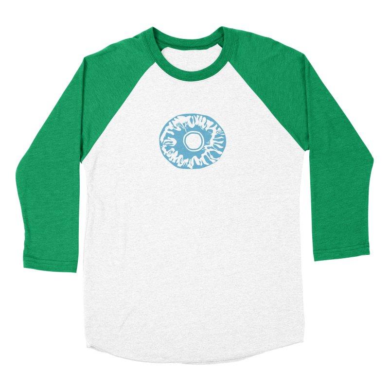 Eyez LitBlu Women's Baseball Triblend Longsleeve T-Shirt by saberdog's Artist Shop
