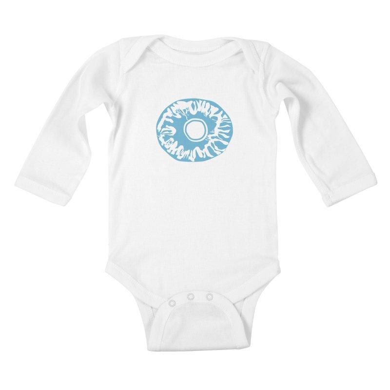 Eyez LitBlu Kids Baby Longsleeve Bodysuit by saberdog's Artist Shop