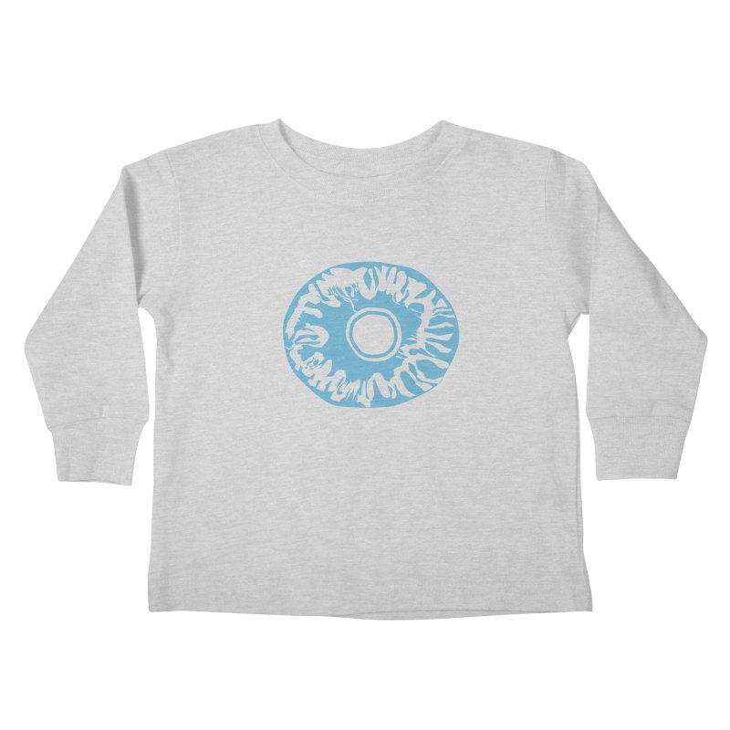Eyez LitBlu Kids Toddler Longsleeve T-Shirt by saberdog's Artist Shop