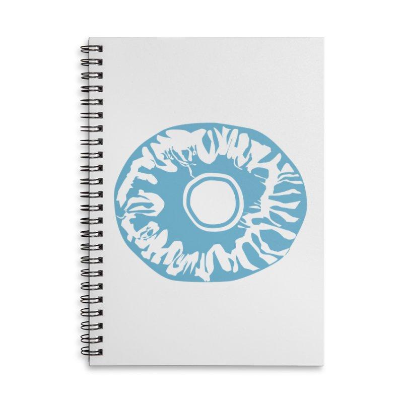 Eyez LitBlu Accessories Lined Spiral Notebook by saberdog's Artist Shop