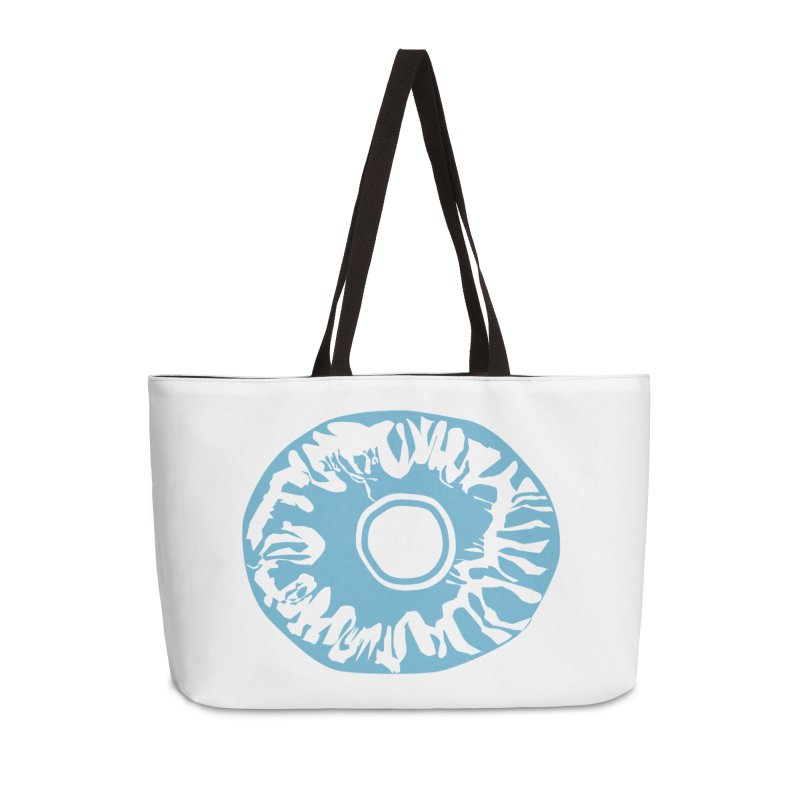 Eyez LitBlu Accessories Weekender Bag Bag by saberdog's Artist Shop