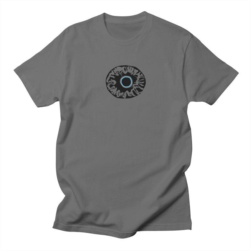 Eyez BluBlk Men's T-Shirt by saberdog's Artist Shop