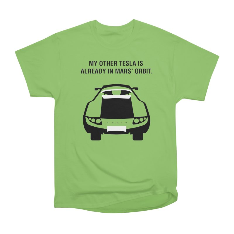 My Other Tesla Men's Heavyweight T-Shirt by saberdog's Artist Shop