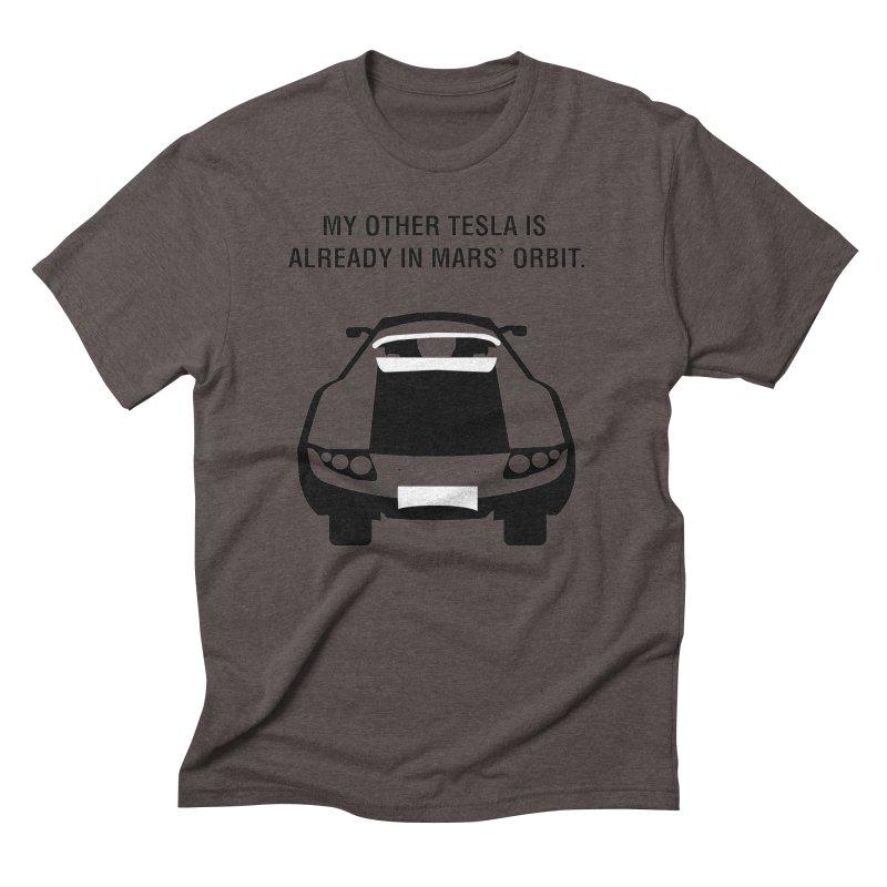 My Other Tesla Men's Triblend T-Shirt by saberdog's Artist Shop