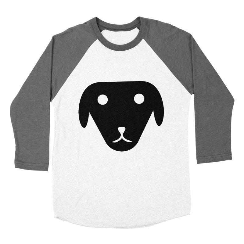 PUBBERINO Men's Baseball Triblend Longsleeve T-Shirt by saberdog's Artist Shop