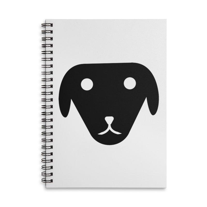 PUBBERINO Accessories Lined Spiral Notebook by saberdog's Artist Shop