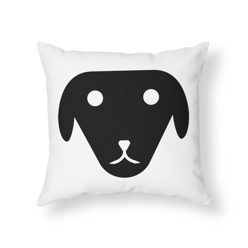 PUBBERINO Home Throw Pillow by saberdog's Artist Shop