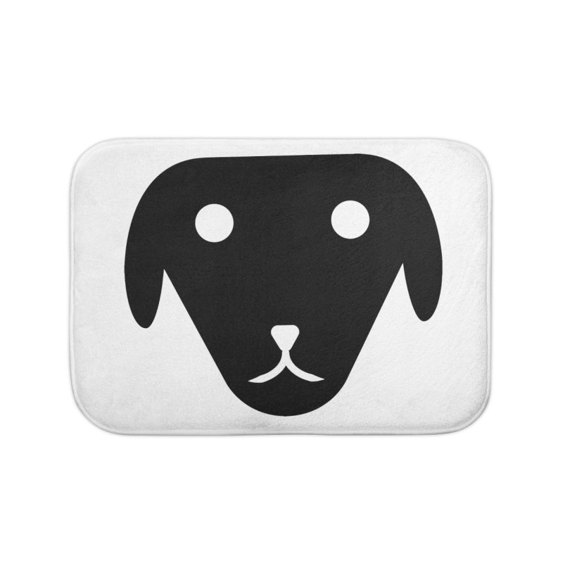 PUBBERINO Home Bath Mat by saberdog's Artist Shop