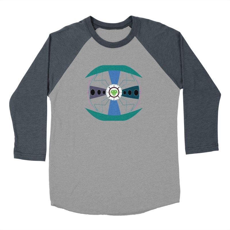 SaberShip Men's Baseball Triblend Longsleeve T-Shirt by saberdog's Artist Shop