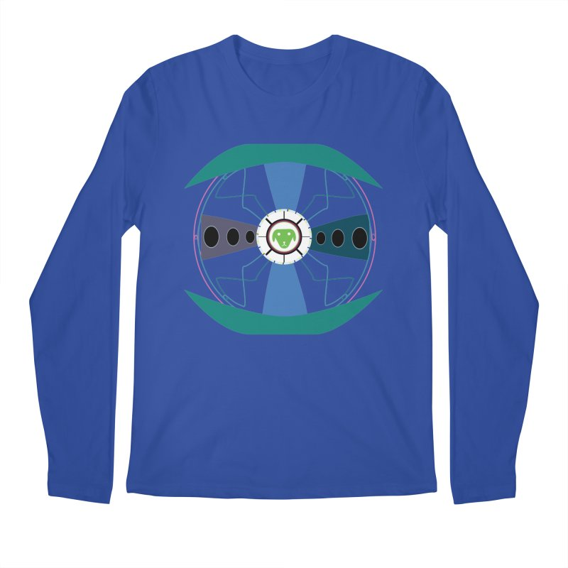 SaberShip Men's Regular Longsleeve T-Shirt by saberdog's Artist Shop