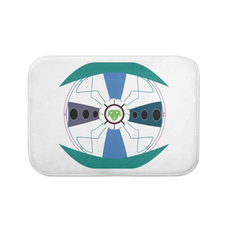 SaberShip Home Bath Mat by saberdog's Artist Shop