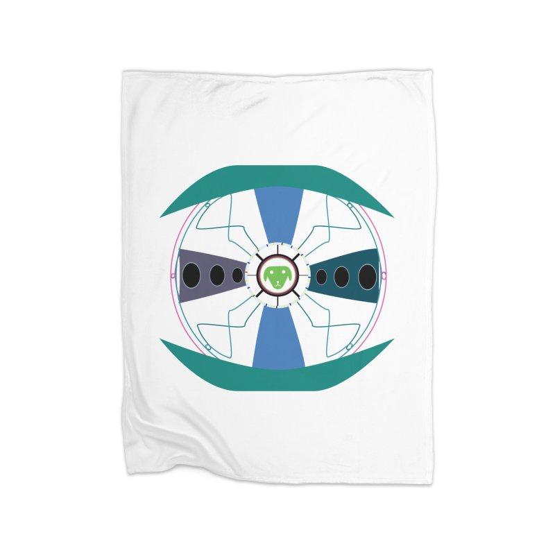 SaberShip Home Fleece Blanket Blanket by saberdog's Artist Shop