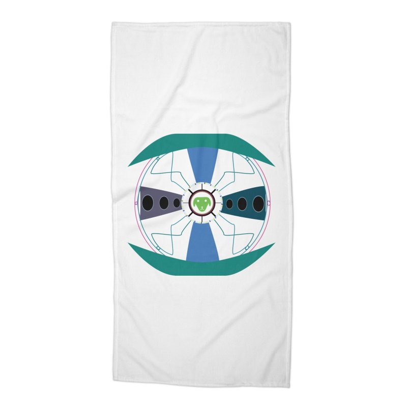 SaberShip Accessories Beach Towel by saberdog's Artist Shop