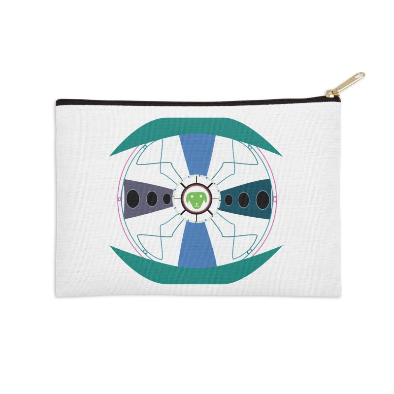 SaberShip Accessories Zip Pouch by saberdog's Artist Shop