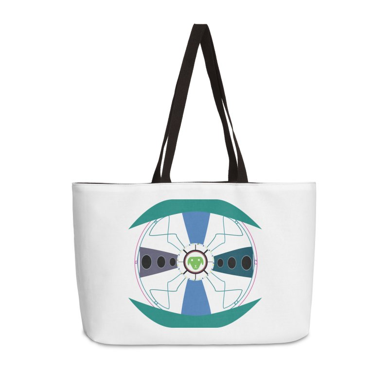 SaberShip Accessories Weekender Bag Bag by saberdog's Artist Shop