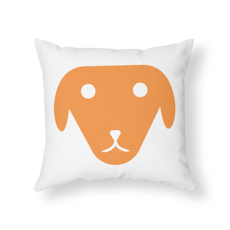 Smalls Home Throw Pillow by saberdog's Artist Shop