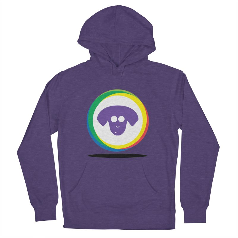 Donut Pup Women's French Terry Pullover Hoody by saberdog's Artist Shop