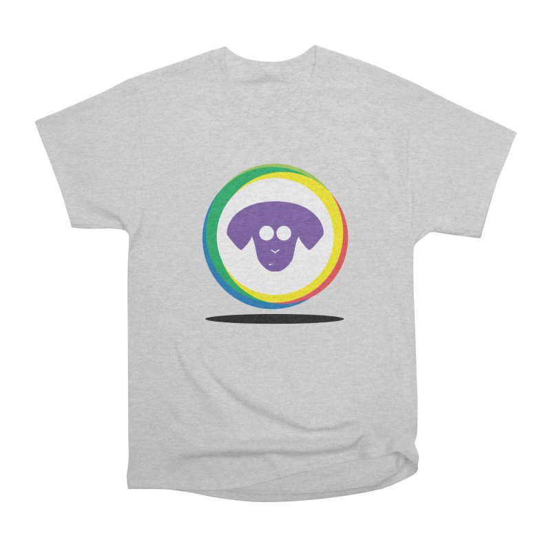Donut Pup Women's Heavyweight Unisex T-Shirt by saberdog's Artist Shop